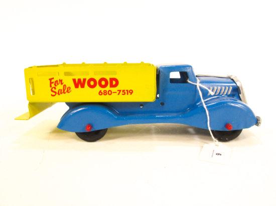 Pressed Steel Firewood Truck, Restored