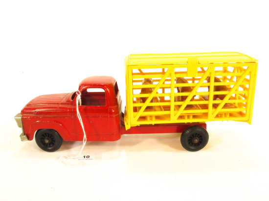 Hubley Stock Truck With Hogs