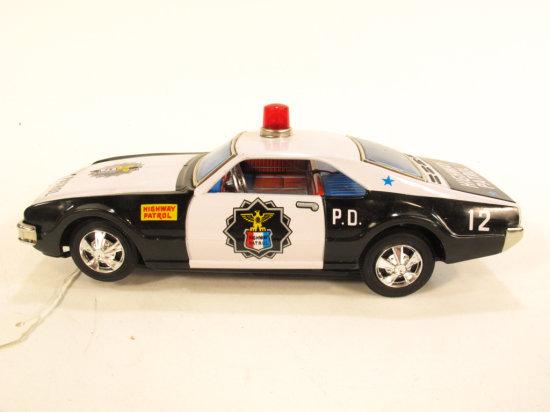 Modern Battery Op Highway Patrol Car