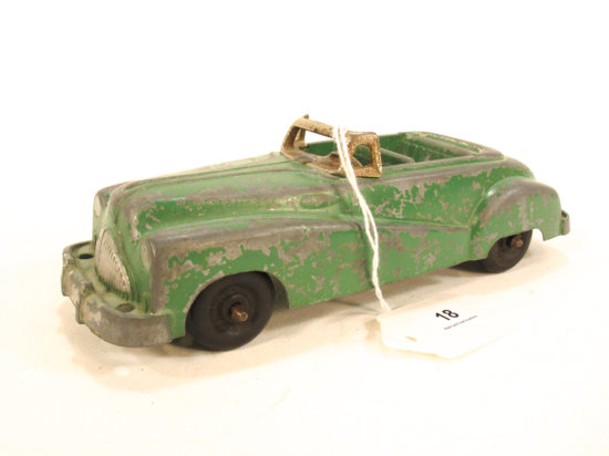 7 Inch Cast Metal Car