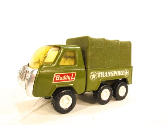 Buddy L Army Transport Truck