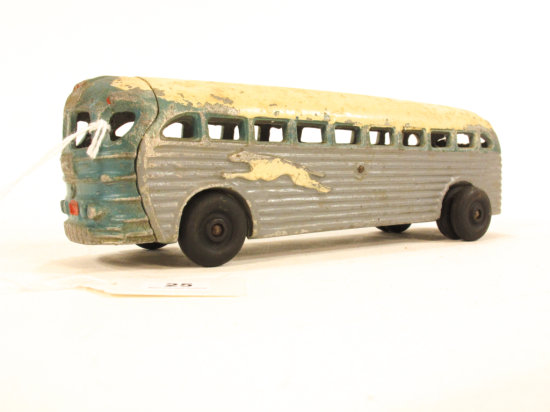 Realistic Toys Aluminum Greyhound Bus