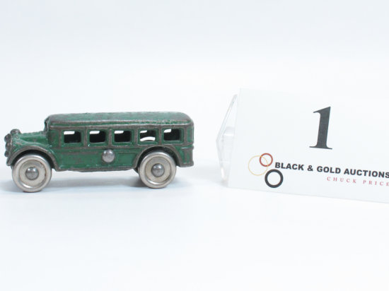 "3-3/4"" Arcade Cast Iron Bus"