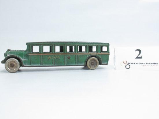 """8"""" Arcade Cast Iron Fageol Bus"""