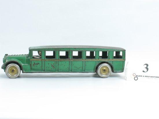 """12-1/4"""" Arcade Cast Iron Fageol Bus"""