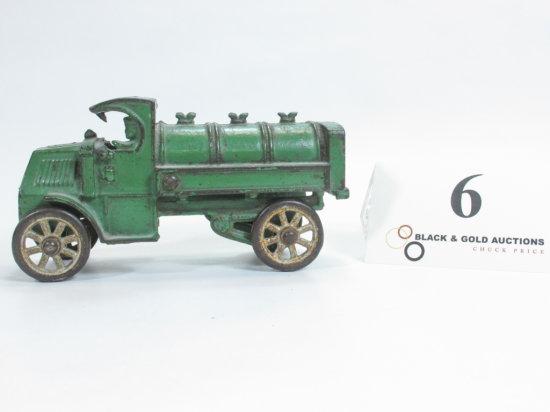"5-3/4"" Hubley Cast Iron Tanker Truck"