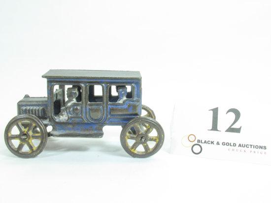 "5-1/4"" Hubley Cast Iron Taxicab"