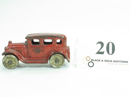 "4-1/4"" Cast Iron Touring Car"