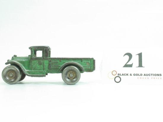 "4-3/4"" Arcade Cast Iron Flat Bed Truck"