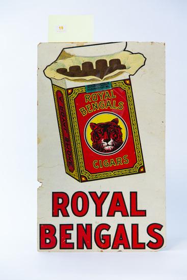 Royal Bengals Cigars sign