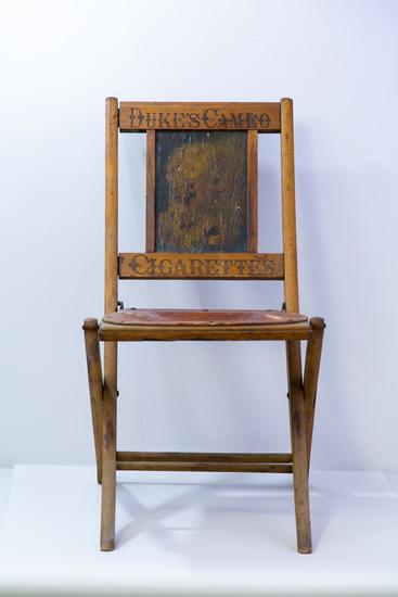 Duke's Cameo Cigarettes folding chair