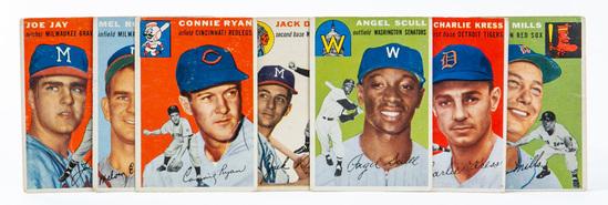 1954 Topps (7 card lot)