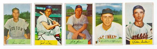 1954 Bowman (5-card lot)
