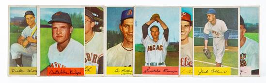 1954 Bowman lot (8 cards)