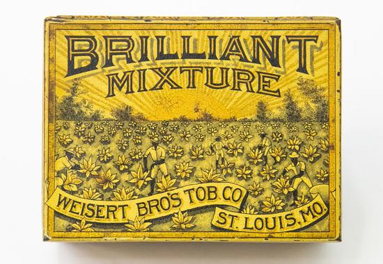 Brilliant Mixture smoking tobacco tin