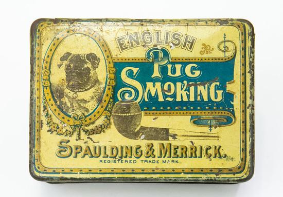 English Pub smoking tobacco tin