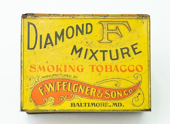 Diamond Mixture tobacco tin
