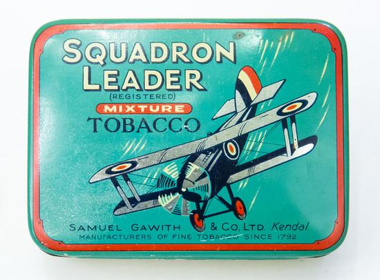 Squadron Leader tobacco tin