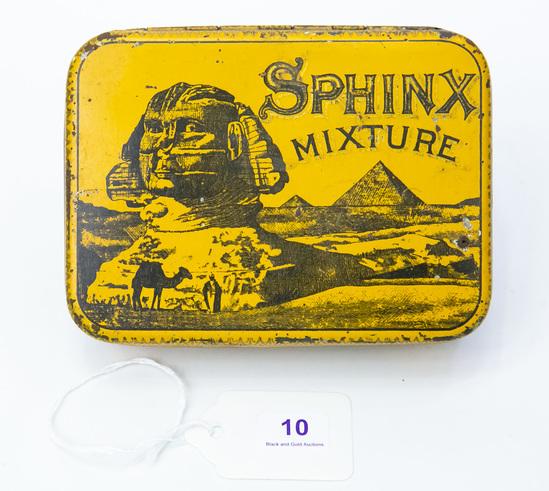 Sphinx mixture tobacco tin