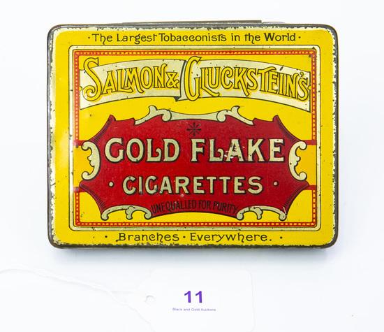 Gold Flake cigarettes tin