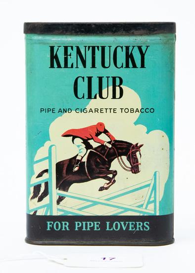 Kentucky Club pocket tobacco tin