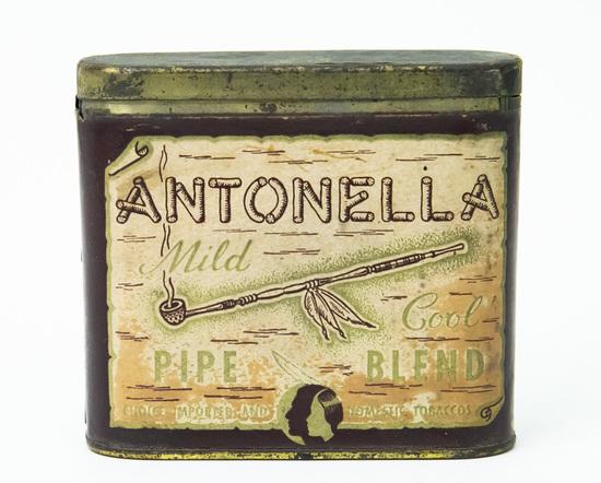 Antonella pipe blend pocket tobacco tin