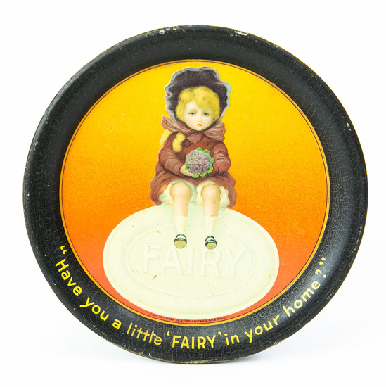 Fairy Soap advertising tip tray