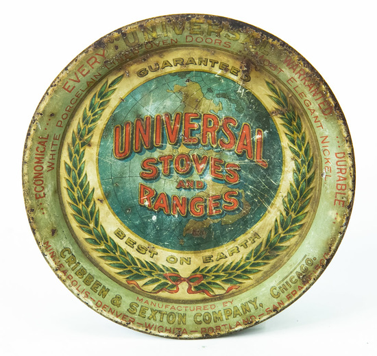 Universal Stove and Ranges tip tray