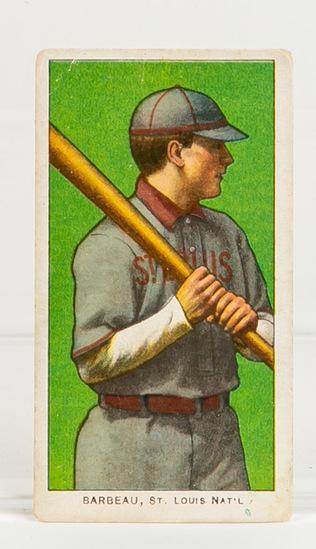 1909-11 T206 Jap Barbeau, St. Louis, Nat'l