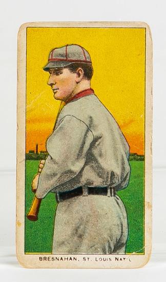 1909-11 T206 Roger Bresnahan (HOF), St. Louis, Nat