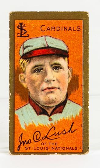 1911 T205 John Lush, St. Louis Cardinals