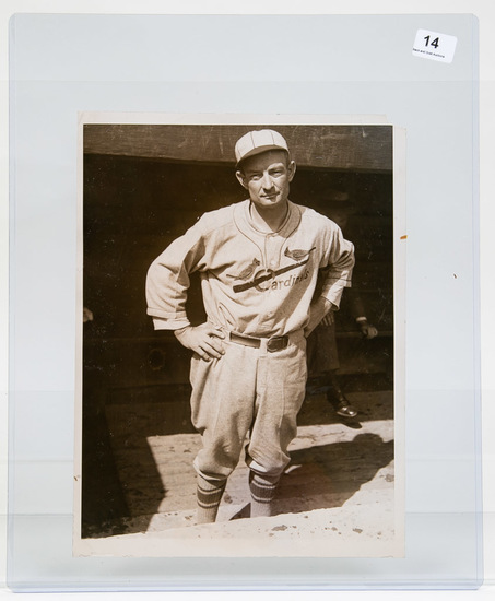 1928 Original AP Photo Bill McKechnie, Mgr. (HOF)