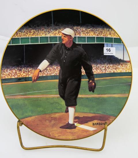 Christy Mathewson: 1905 World Series plate (1994)