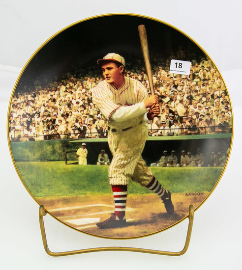 Rogers Hornsby: The .424 Season -- Delphi plate