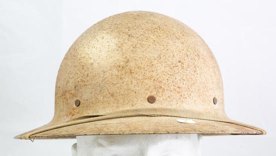 World War II Era Civil Defense Helmet