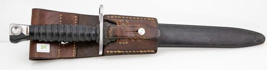 Swiss Model 1957 Bayonet, Scabbard