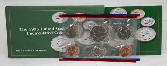 4 1990's U.S. Mint Uncirculated sets