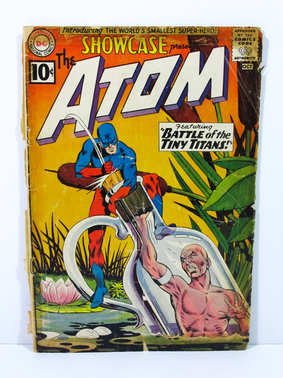 Showcase # 34 Presents The Atom