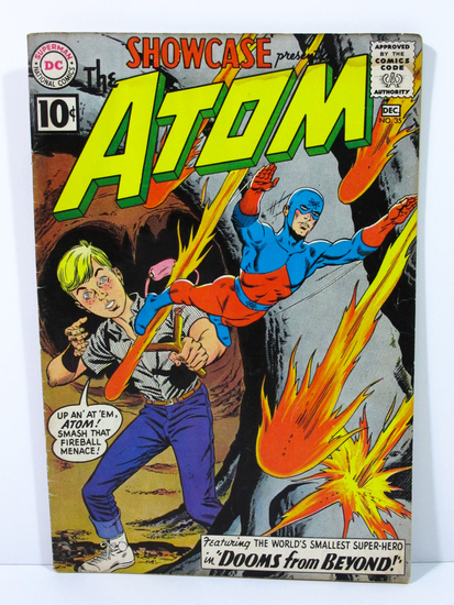 Showcase # 35 Presents The Atom