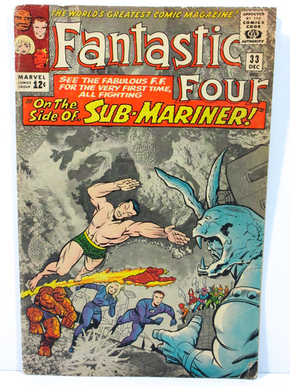 Fantastic Four # 33