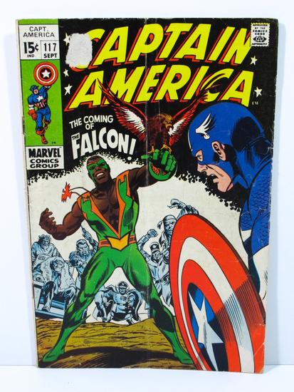 Captain America # 117