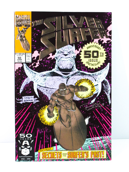 Silver Surfer 50th Anniversary Signed