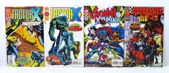 4 X-Men Deluxe Comics