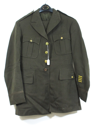 WWII Wool Army Dress Jacket and Trousers