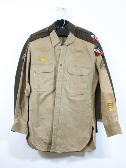 WWII Army Dress Jacket and Shirt