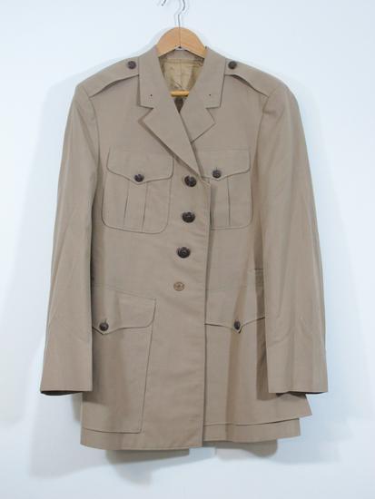 WWII US Navy Khaki Dress Jacket