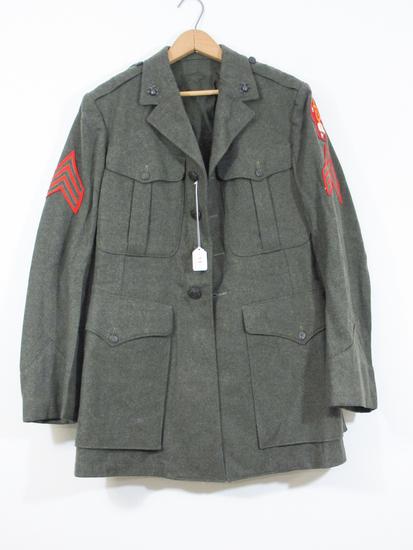 WWII US Marine Wool Jacket