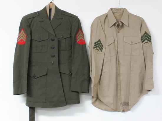 Vintage US Marine Corps Uniform
