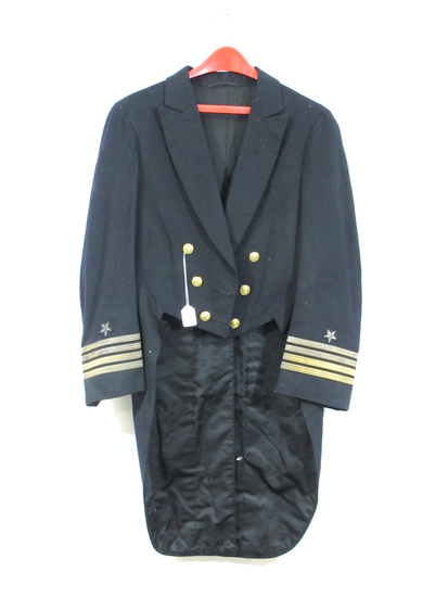 US Navy Wool Jacket with Tails