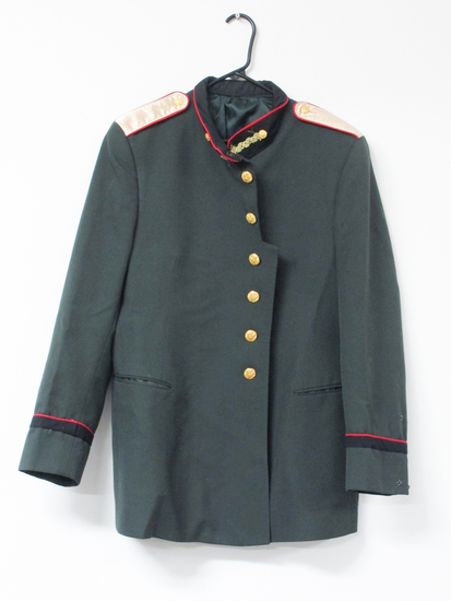 Green Army Men's Jacket, Modified